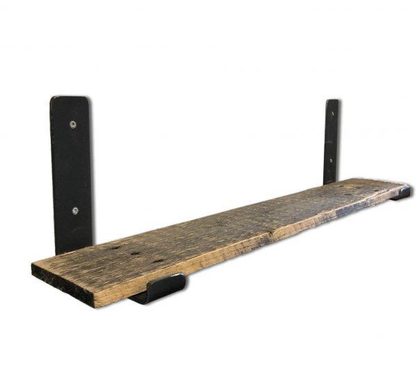 Wandplank van sloophout