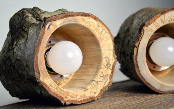 Sfeervolle hanglamp van berkenhout 03